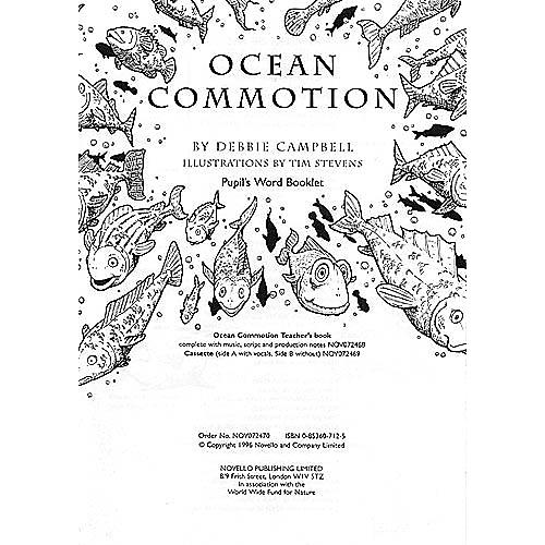 Music Sales Debbie Campbell: Ocean Commotion (PupilÆs Book) Music Sales America Series Written by Debbie Campbell