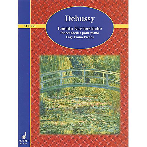 Schott Debussy - Easy Piano Pieces