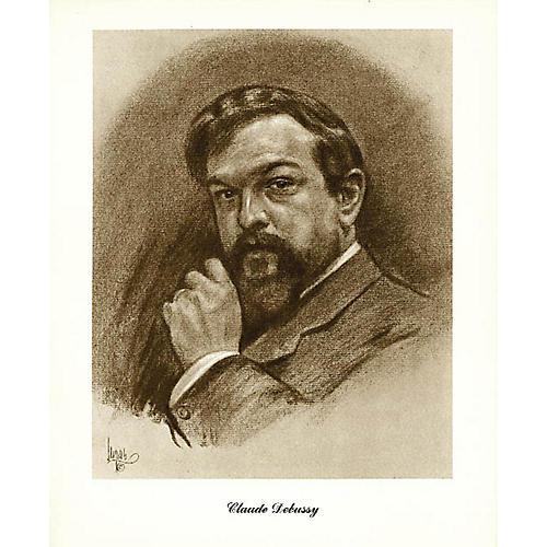 Music Sales Debussy (Lupas Large Portrait Poster) Music Sales America Series
