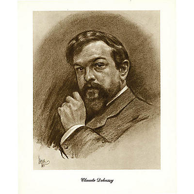 Music Sales Debussy (Lupas Small Portrait Poster) Music Sales America Series