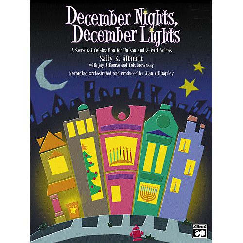 Alfred December Nights, December Lights:  Score and 10 Books