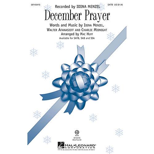Hal Leonard December Prayer ShowTrax CD Arranged by Mac Huff