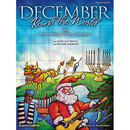 Hal Leonard December 'Round the World (An International Holiday Celebration) Performance Kit with CD by Roger Emerson
