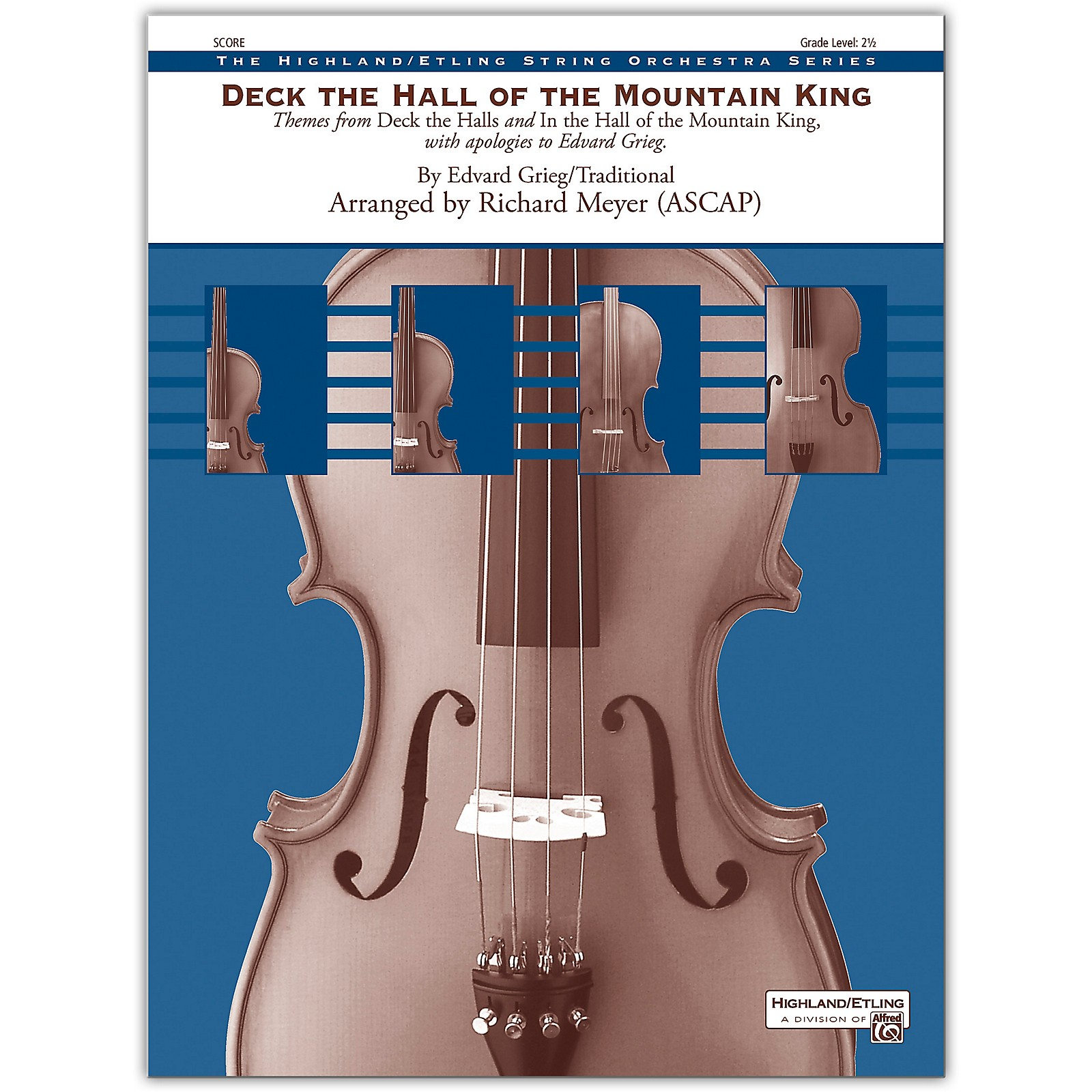 Alfred Deck the Hall of the Mountain King Conductor Score 2.5
