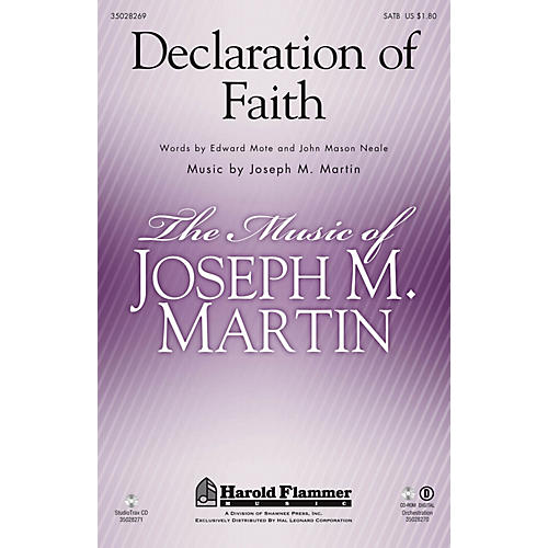 Shawnee Press Declaration of Faith SATB composed by Joseph M. Martin
