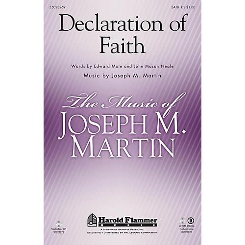 Shawnee Press Declaration of Faith Studiotrax CD Composed by Joseph M. Martin