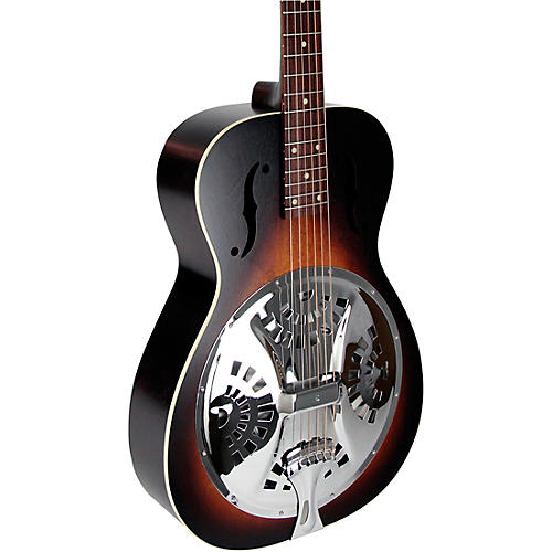Beard Guitars Deco Phonic Model 27 Roundneck Left-Handed Acoustic-Electric Resonator Guitar