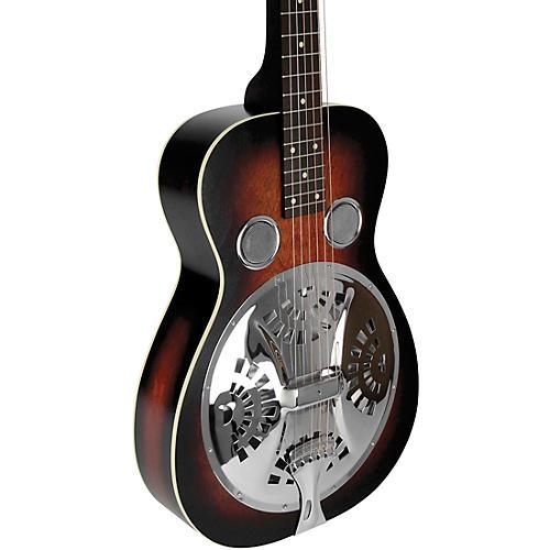 Beard Guitars Deco Phonic Model 37 Squareneck Left-Handed Acoustic-Electric Resonator Guitar