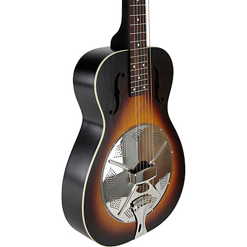 Beard Guitars Deco Phonic Model 47 Squareneck Left-Handed Resonator Guitar Vintage Sunburst