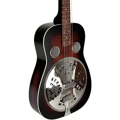 Beard Guitars Deco Phonic Model 57 Squareneck Left-Handed Acoustic-Electric Resonator Guitar Vintage Sunburst