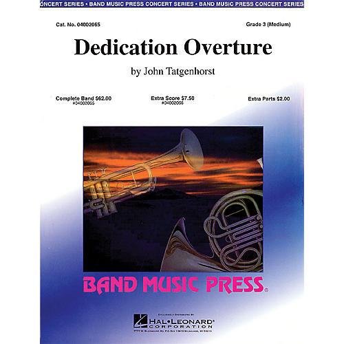 Hal Leonard Dedication Overture (Band Music Press) Concert Band Level 3 Composed by John Tatgenhorst