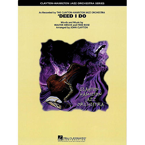 Hal Leonard Deed I Do Jazz Band Level 5 Arranged by John Clayton
