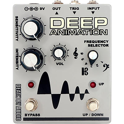 DEATH BY AUDIO Deep Animation Bass Overdrive Envelope Follower Effects Pedal