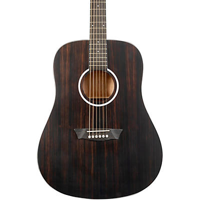 Washburn Deep Forest Ebony D Acoustic Guitar