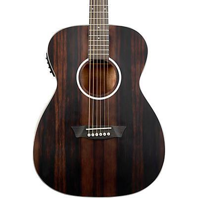 Washburn Deep Forest Ebony FE Acoustic-Electric Guitar