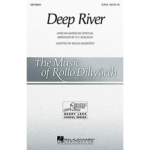 Hal Leonard Deep River 2-Part arranged by Rollo Dilworth