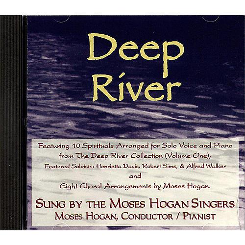 Hal Leonard Deep River arranged by Moses Hogan