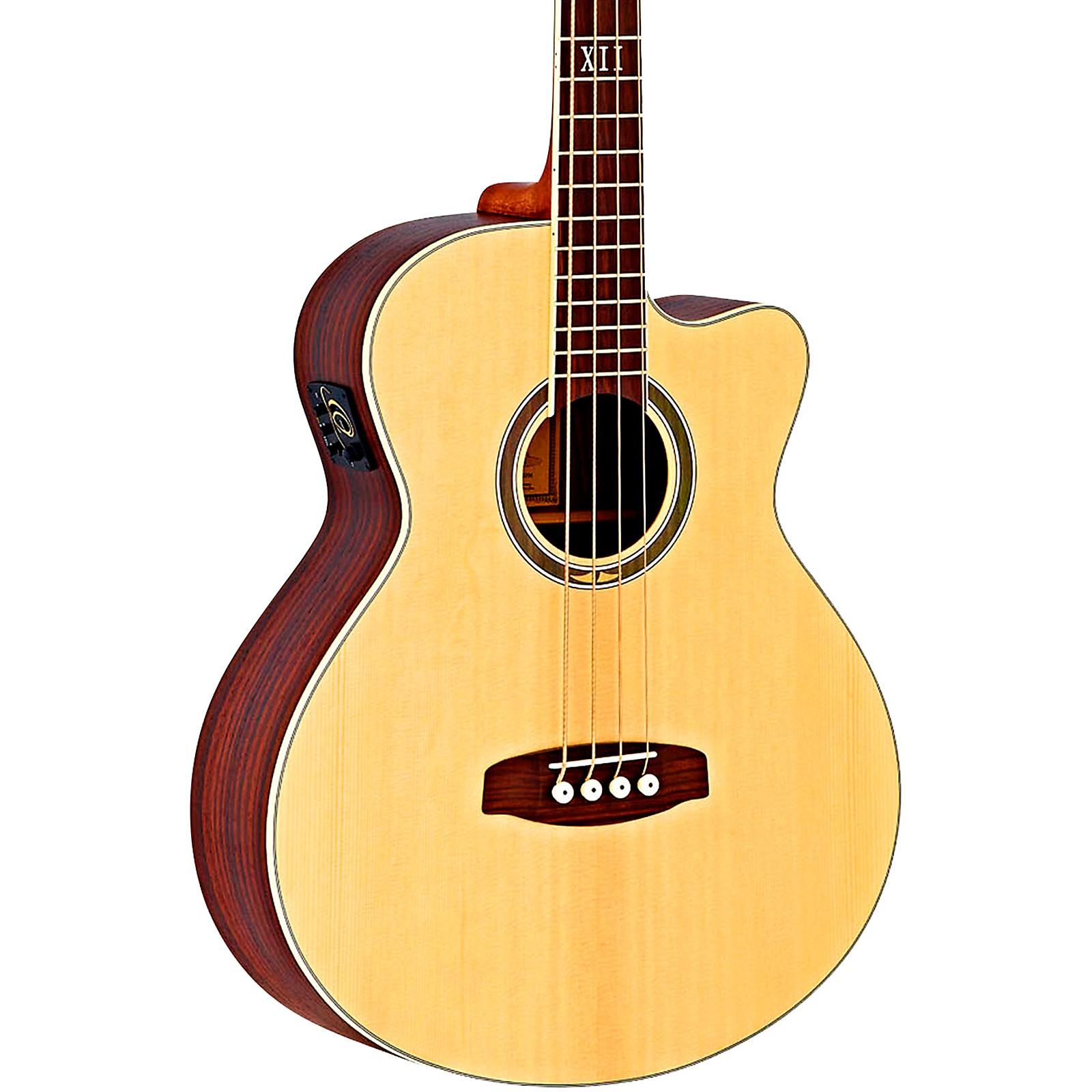 Ortega Deep Series 5 D558-4 Walnut Acoustic-Electric Bass