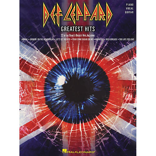 Hal Leonard Def Leppard Greatest Hits Piano, Vocal, Guitar Songbook
