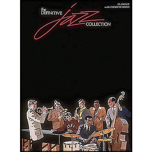 Hal Leonard Definitive Jazz Collection Clarinet with Chord Symbols