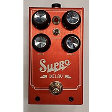 Supro Delay Effect Pedal