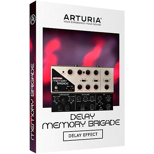Arturia Delay MEMORY-BRIGADE (Software Download)