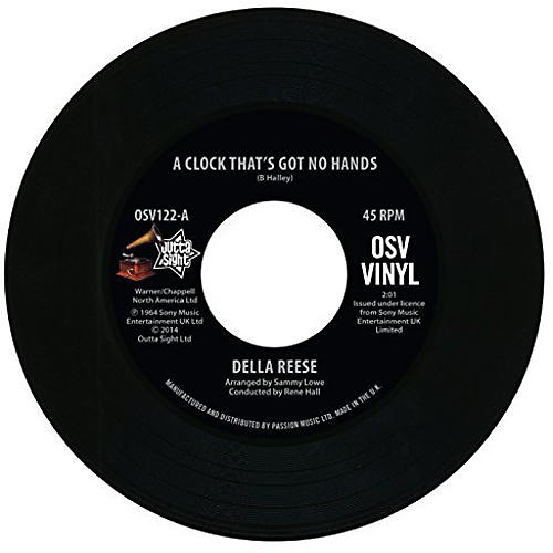 Alliance Della Reese - Clock That's Got No Hands/Come on a My House