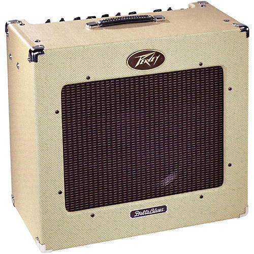 peavey delta blues 30w 1x15 tube combo guitar amp musician 39 s friend. Black Bedroom Furniture Sets. Home Design Ideas