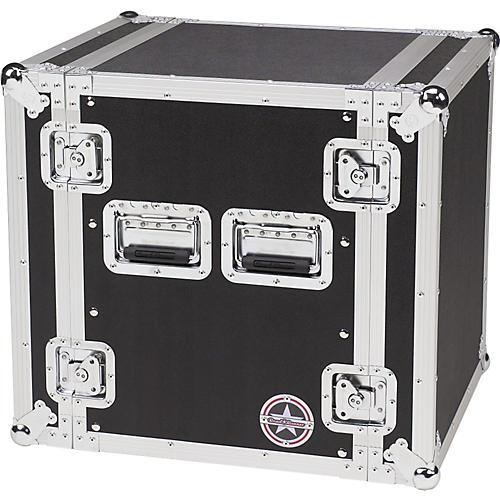 road runner deluxe 12u amplifier rack case musician 39 s friend. Black Bedroom Furniture Sets. Home Design Ideas