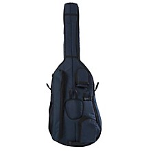 Deluxe 3/4 Double Bass Bag Large 3/4 Blue