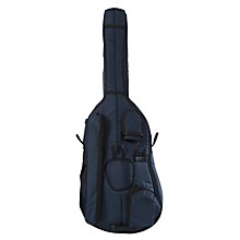 Deluxe 3/4 Double Bass Bag Small 3/4 Blue