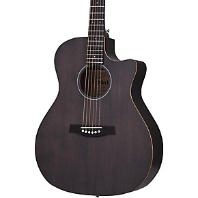 schecter guitar research deluxe acoustic guitar see thru black musician 39 s friend. Black Bedroom Furniture Sets. Home Design Ideas