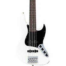 Deluxe Active Jazz Bass V Pau Ferro Fingerboard Olympic White