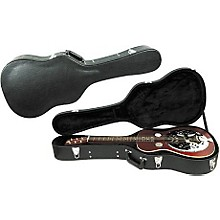 Open Box Musician's Gear Deluxe Archtop Hardshell Squareneck Guitar Case