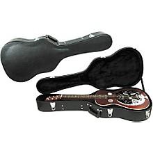 Open BoxMusician's Gear Deluxe Archtop Hardshell Squareneck Guitar Case