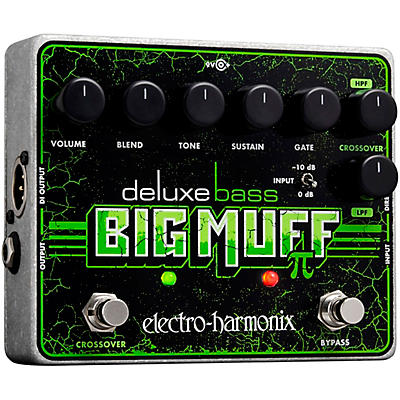 Electro-Harmonix Deluxe Bass Big Muff Pi Distortion Effects Pedal