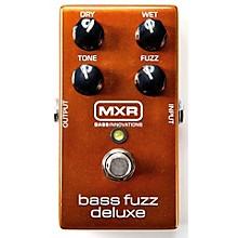 Open BoxMXR Deluxe Bass Fuzz Effects Pedal