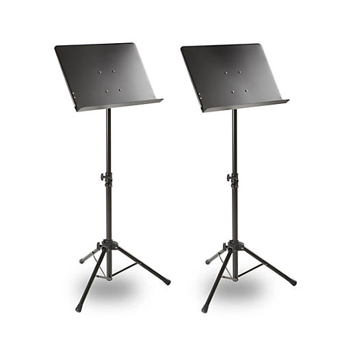 Musician's Gear Deluxe Conductor Music Stand 2-Pack