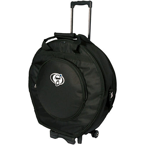 Protection Racket Deluxe Cymbal Case Trolley 24 in. Black