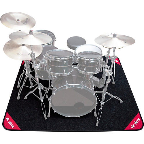 Vic Firth Deluxe Drum Rug Gray