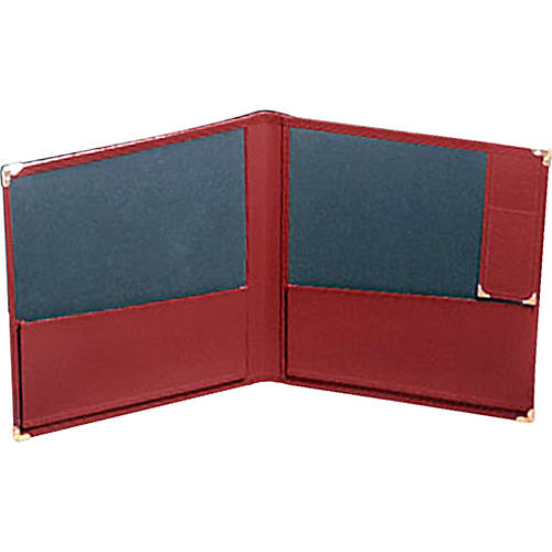 Deer River Deluxe Grand Concert Band Folio With Pencil Holder Red