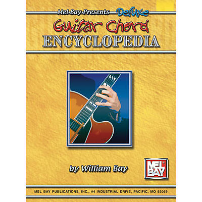 Mel Bay Deluxe Guitar Chord Encyclopedia