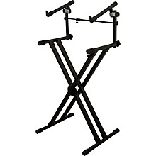 On-Stage Deluxe Heavy Duty X 2-Tier Keyboard Stand