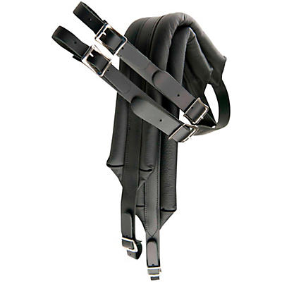 Perri's Deluxe Leather Accordion Strap with Metal Buckles