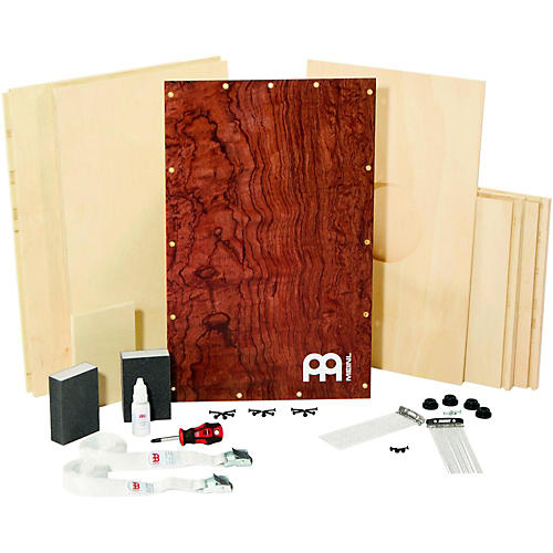 Meinl Deluxe Make Your Own Cajon Bubinga Burl Frontplate