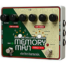 Open BoxElectro-Harmonix Deluxe Memory Man Tap Tempo 550 Delay Guitar Effects Pedal