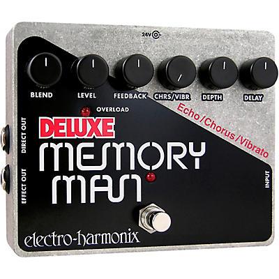 Electro-Harmonix Deluxe Memory Man XO Analog Delay Guitar Effects Pedal