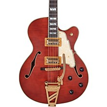 D'Angelico Deluxe Series 175 Hollowbody Electric Guitar USA TV Jones Humbuckers D'Angelico Shield Tremolo