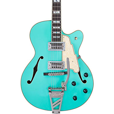 D'Angelico Deluxe Series 175 With TV Jones Humbuckers Limited-Edition Hollowbody Electric Guitar