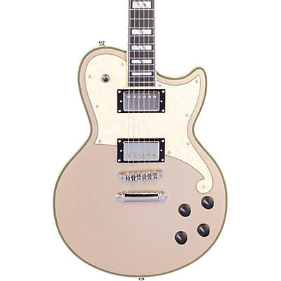 D'Angelico Deluxe Series Atlantic Solid Body Electric Guitar with USA Seymour Duncan Humbuckers and Stopbar Tailpiece